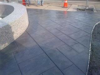Stamp Concrete Sidewalk